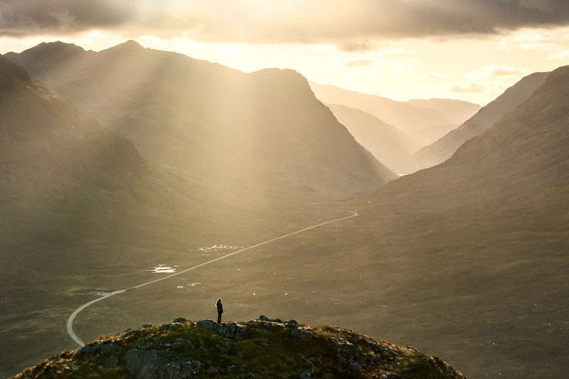 Glencoe scotland sunset person road cropped_b.jpg