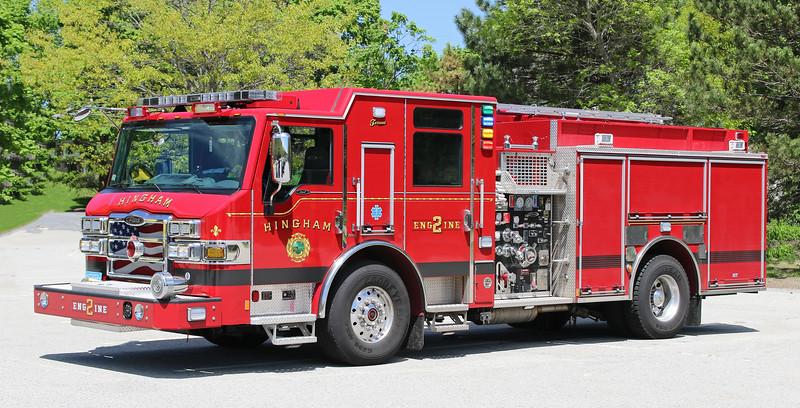 Engine 2.  2015 Pierce Impel   1250 / 750