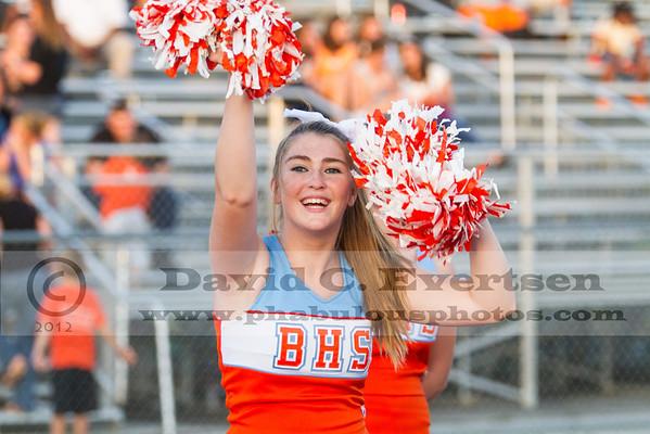Freshman Cheerleading - 2012