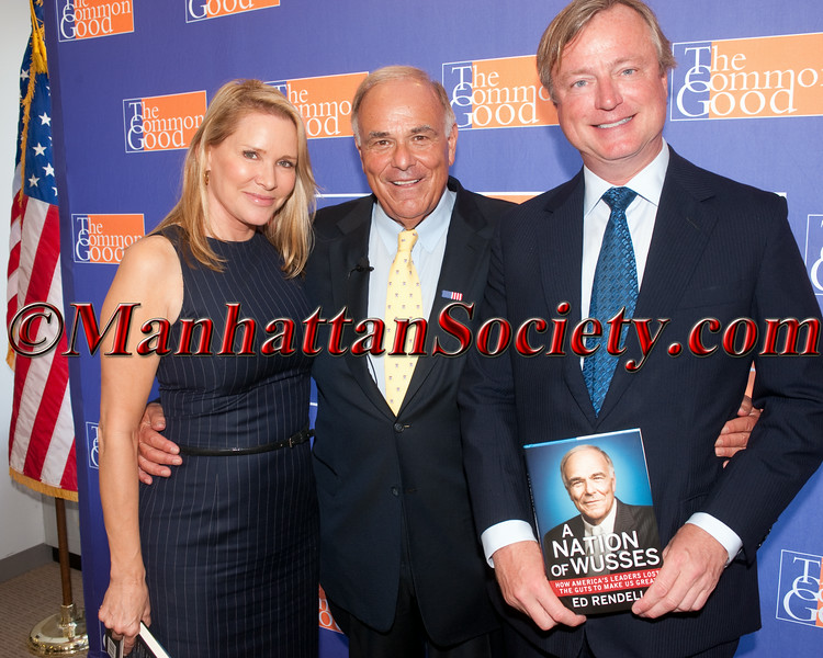 "TCG: The Common Good & Paul Bierne Host Governor Ed Rendell In Discussion of New Book "" A Nation of Wussies"""