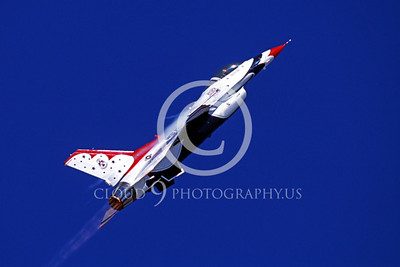 AFTERBURNER: US Air Force Thunderbird Lockheed Martin F-16 Fighting Falcon Jet Fighter Afterburner Pictures