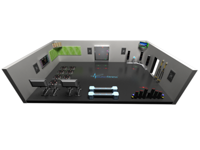 Exergame Europe Pulse 3D Rooms