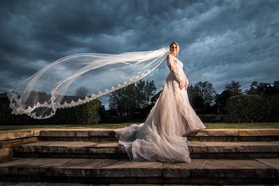 Cammi Calloway Bridal Portraits