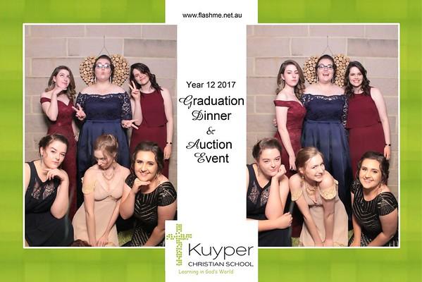 Kuyper Christian School Year 12 2017 Graduation Dinner & Auction Event - 13 November 2017