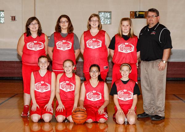 SNMS Girls Basketball 2012-2013