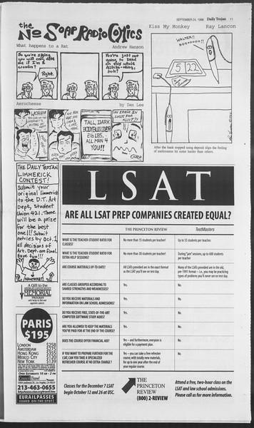Daily Trojan, Vol. 129, No. 18, September 24, 1996