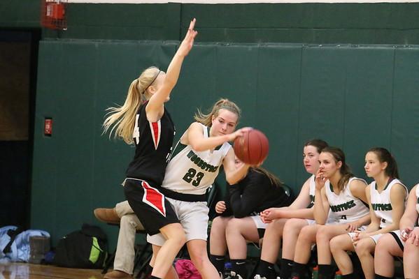 WUHS Girls Basketball vs Twin Valley