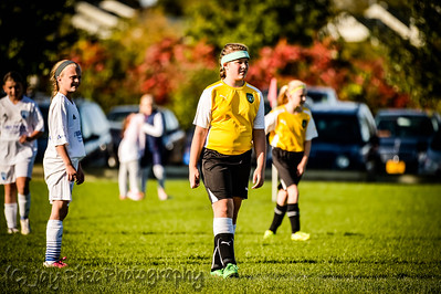 October 10, 2015 - PSC 05 Girls White - Game