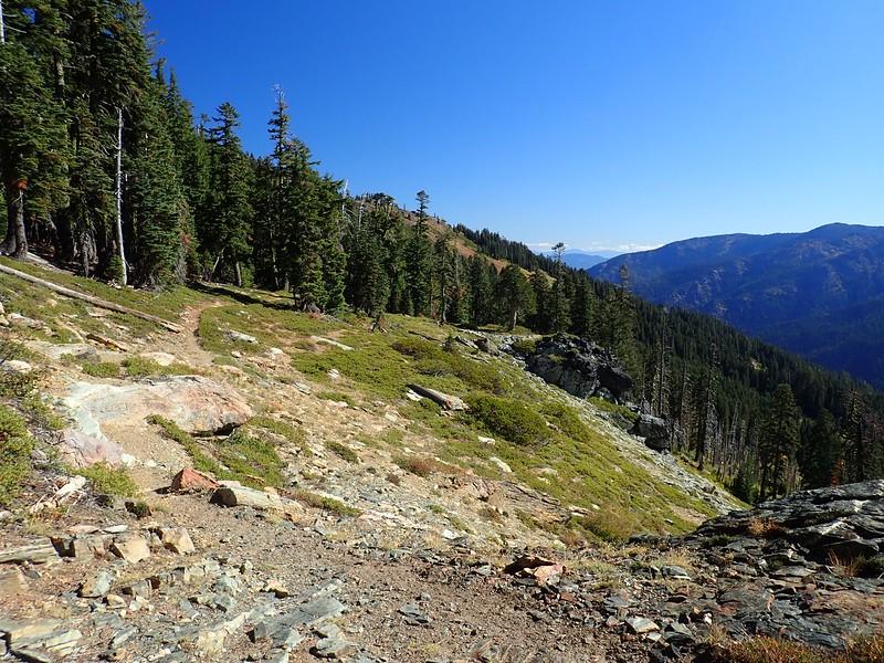 Box Camp Paradise Lake Marble Mountain Wilderness California