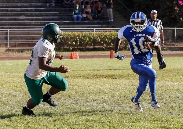 Moanalua JV vs Aiea 10/12/2012