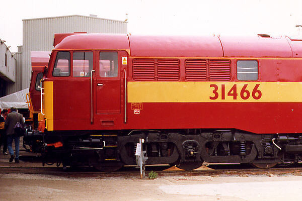 31466 at Toton TMD on the 30th August 1998