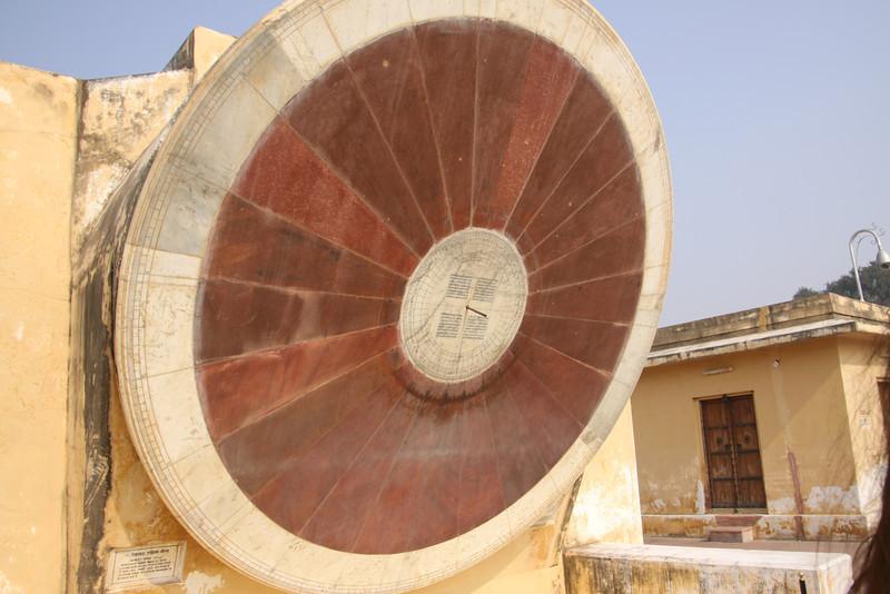 Jantar Mantar midieval observatory in Jaipur