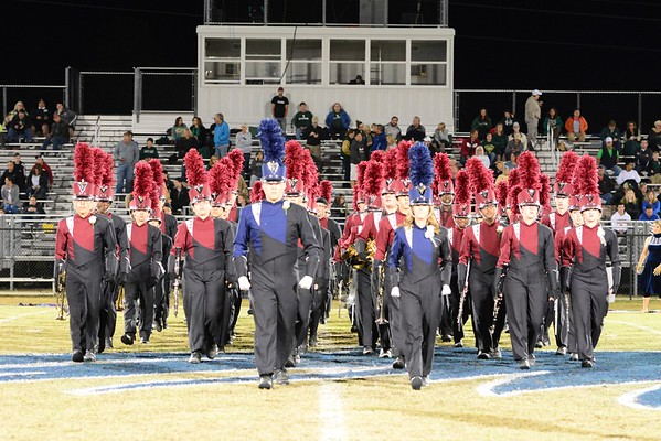 2016-11-04 River Bluff Halftime