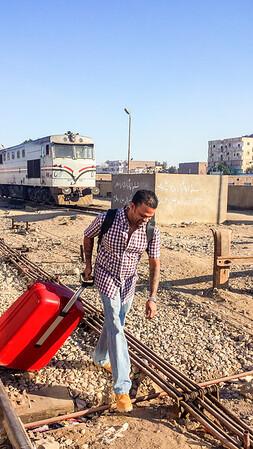 Adventurous Train Ride @ Edfu, Egypt