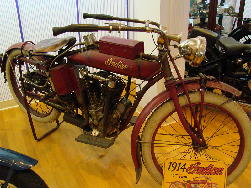 1914 Indian Direct Drive twin