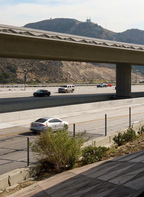 . Current view of the intersection of the Antelope Valley Freeway and the Golden State Freeway. (Photo by Michael Owen Baker/L.A. Daily News)