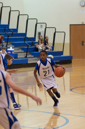 CAI 6th Grade Basketball vs Lanesville 2011