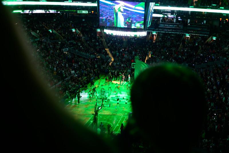 Celtics v Hornets