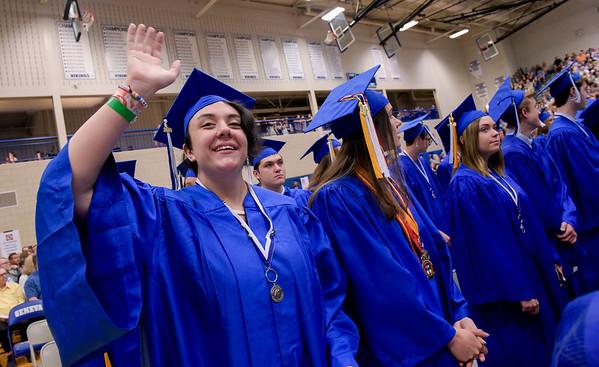 Geneva High School graduation