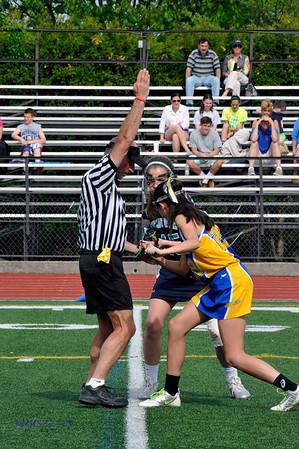 Girls JV Lacrosse 5-10-13BroRoger