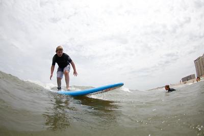Boys Surfing