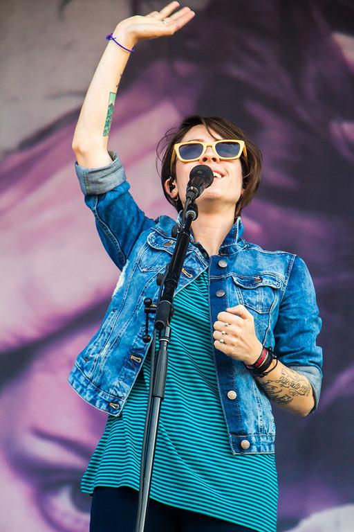 . Tegan and Sara at Lollapalooza