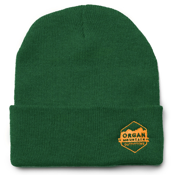 Outdoor Apparel - Organ Mountain Outfitters - Hat - 12 Inch Knit Beanie - Green.jpg