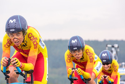 22/9/19: Mixed Team Time Trial - Road World Cycling Championships Yorkshire 2019