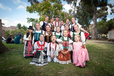Czech, Moravian and Slovak Forlklore Dance in Balboa Park 2013