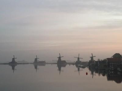 Early morning Zaanse Schans