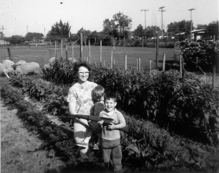 Maria, David and Steven April 1964