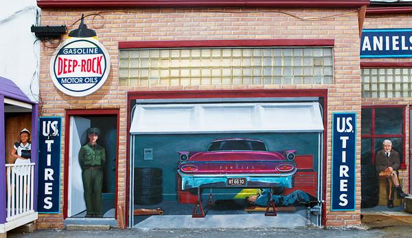 Pontiac Illinois Murals