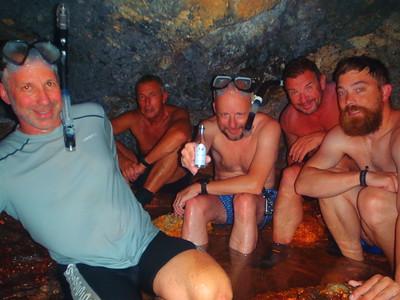 July 15 - Sauna cave trip