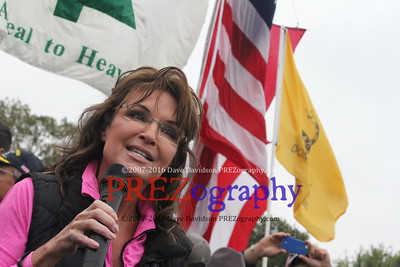 Sarah Palin DC Vet Barricade Event