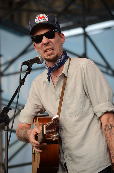 JUSTIN TOWNES EARLE AT THE WHYY FESTIVAL IN PHILADELPHIA