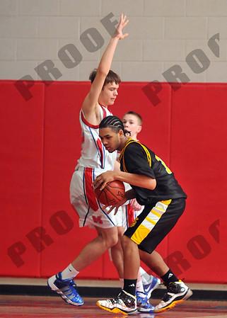 Boys JV Basketball - Waverly at Mason - Feb 4