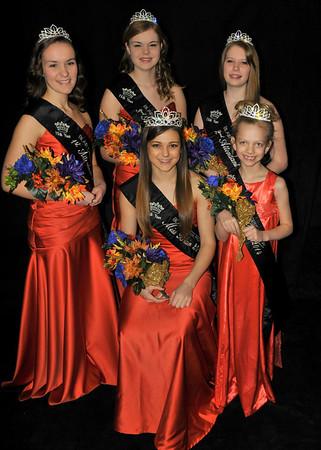 Miss Blair 2014 Court