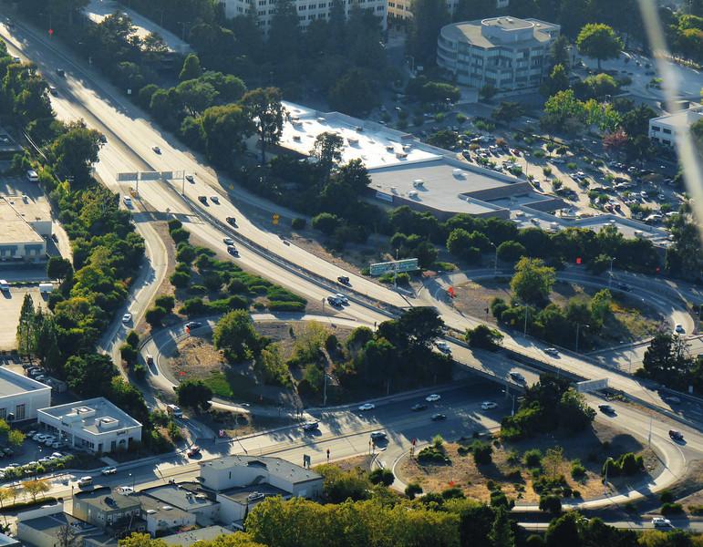 El Camino Real & Highway 92, San Mateo CA.