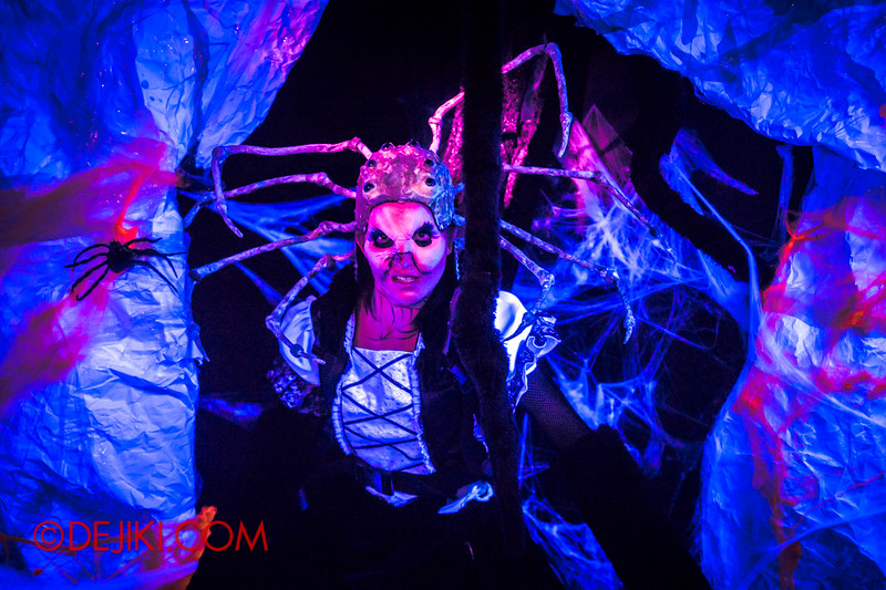 Downtown East - Escape to 'Hell'oween - The Terror Maze Haunted House 6 / The Spider Queen