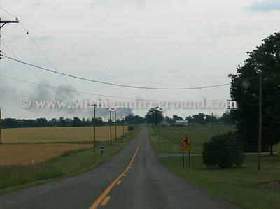7/2/08 - Dansville house fire, 3100 E. Columbia Rd