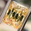 5.35ct Fancy Brownish Yellow Emerald Cut Diamond, GIA SI2 8