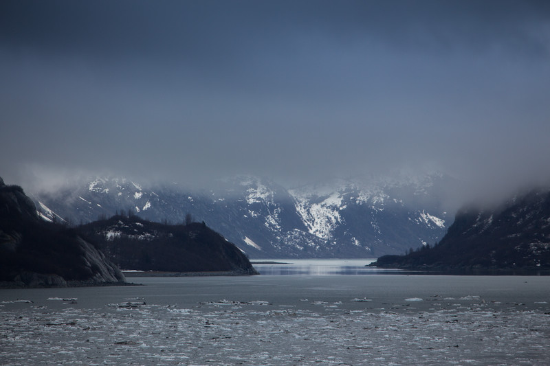 Mist in Glacier Bay, Alaska