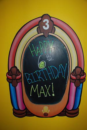 Max's 6th