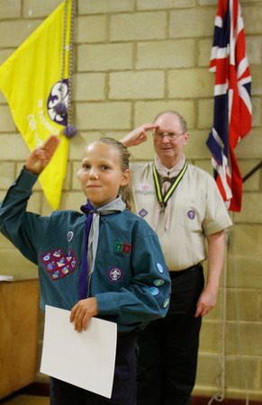 2015 - Chief Scout Gold Award Presentations
