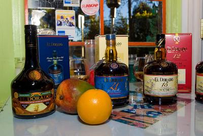 Eva's El Dorado Rum Dinner 081910