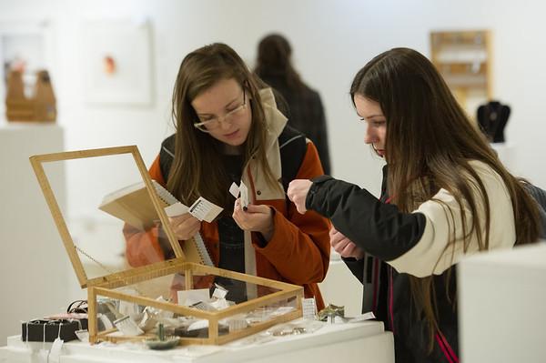 12/4/19 Student Art Sale In Czurles-Nelson Gallery