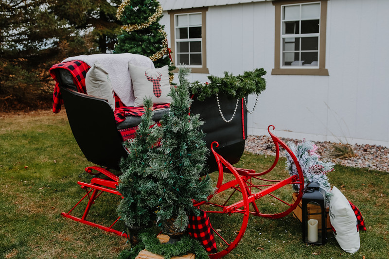 Brittany Taylor Old sleigh