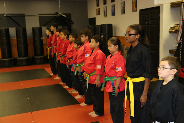 Color Belt Graduation June 2014