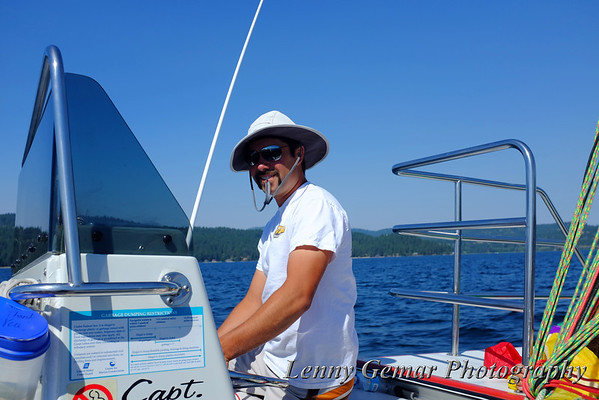 2013 ParaSailing in Coeur d'Alene and Dining in Porthill, ID