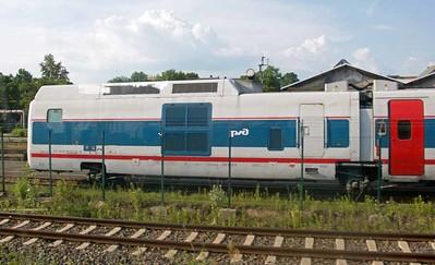 Russian Talgo train, 2016